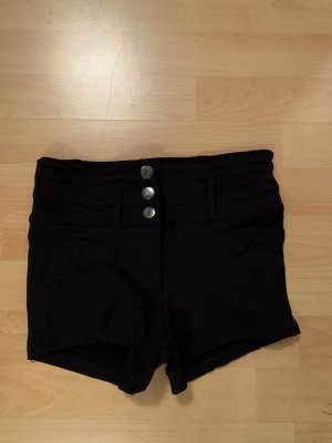 Krótkie szorty czarny
