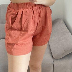 SheIn Short taille haute orange clair-orange