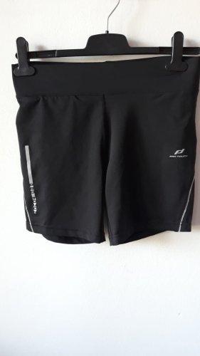 Pro Touch Pantalón corto deportivo negro-color plata