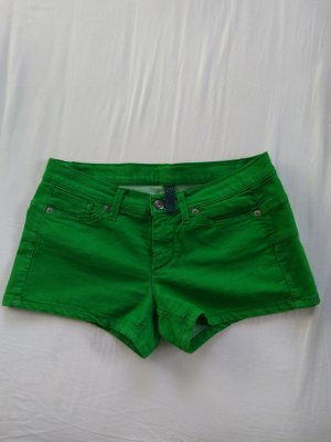 Benetton Jeans Shorts green cotton