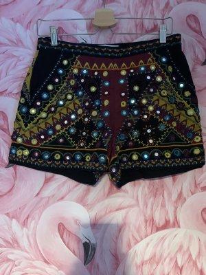 Mango Shorts multicolor Algodón