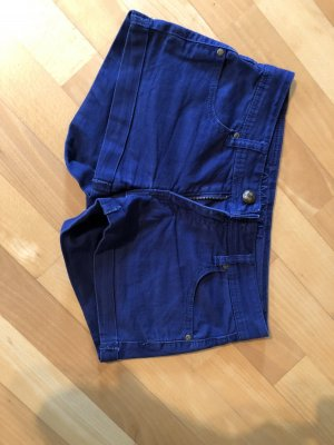Ann Christine Shorts blu scuro