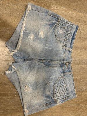 Ann Christine Hot pants blu