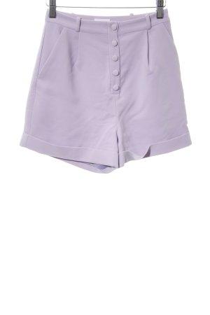 Shorts blasslila Elegant