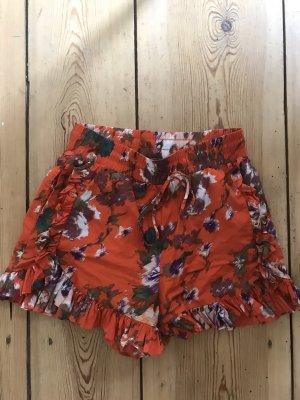 Shorts Blumen Muster Baumwolle S