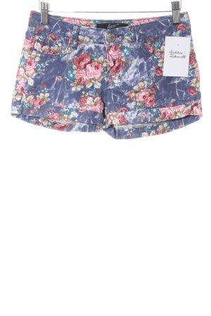Shorts Blumenmuster Casual-Look