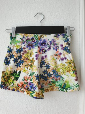 Shorts, bunt geblümt, Gr. S