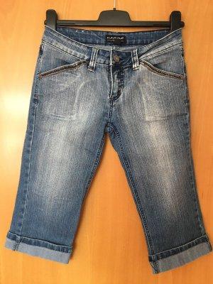 Karma Jeans a 3/4 blu