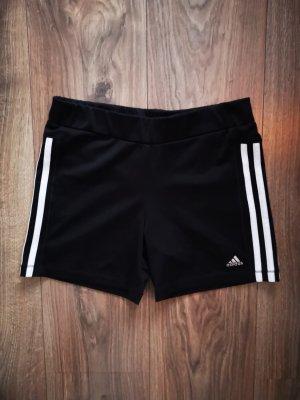 Adidas Short de sport blanc-noir