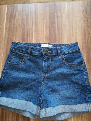 Denim Co. Pantaloncino di jeans bronzo-blu