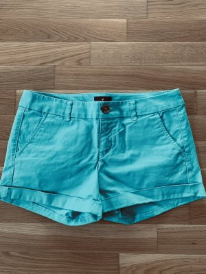 American Eagle Outfitters Denim Shorts turquoise