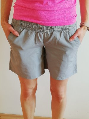 Pantaloncino sport grigio chiaro