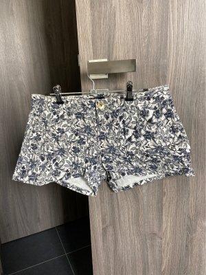 Shorts dunkelgrau/weiß
