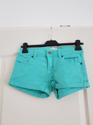Twintip Denim Shorts turquoise