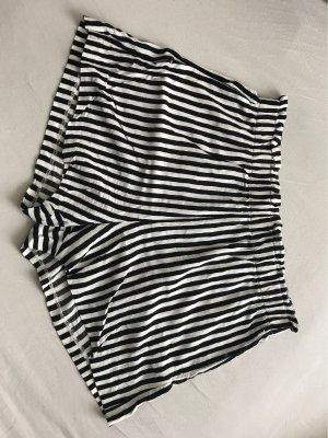 H&M High waist short wit-zwart