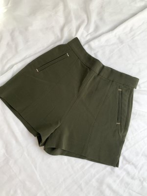 H&M Shorts verde oscuro