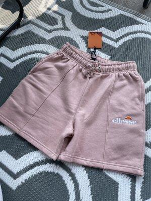 Ellesse Pantalón corto deportivo color rosa dorado