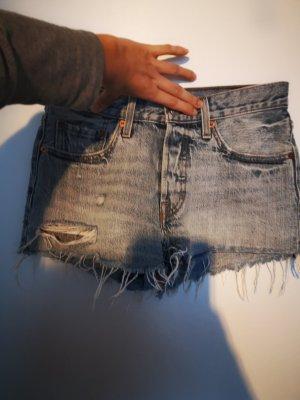 Levis Pantaloncino di jeans blu