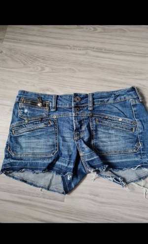 Amisu Jeansowe szorty niebieski