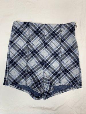 Bershka High-Waist-Shorts multicolored