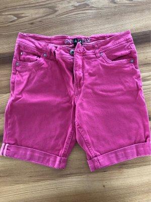 Firefly Denim Shorts pink-pink