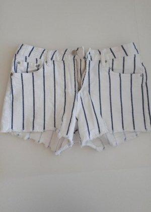 Lefties Hot Pants white-blue