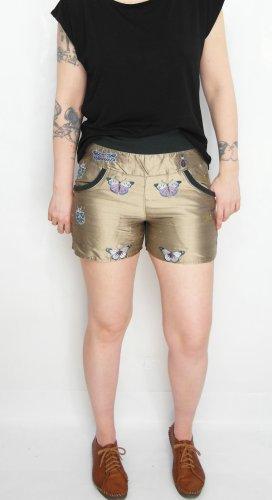 Shorts GR. 36 Hot Pants Kurze Hose Seidenhose