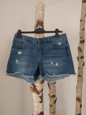 Heidi Klum Denim Shorts blue