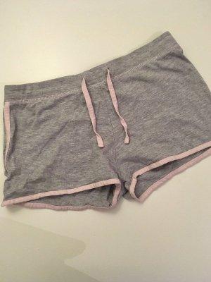 Janina Sport Shorts light grey-pink cotton