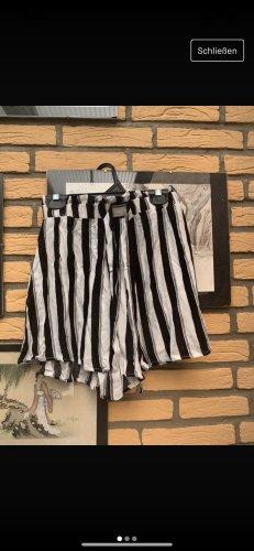 Pull & Bear Skorts wit-zwart