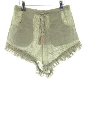 Shorts graugrün Casual-Look
