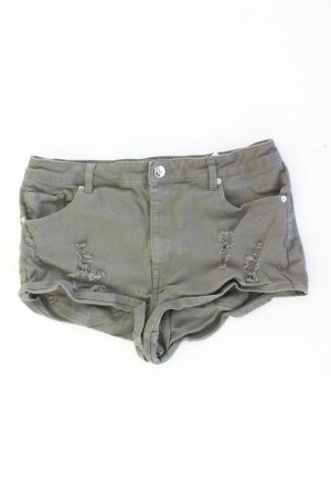Shorts olive green cotton