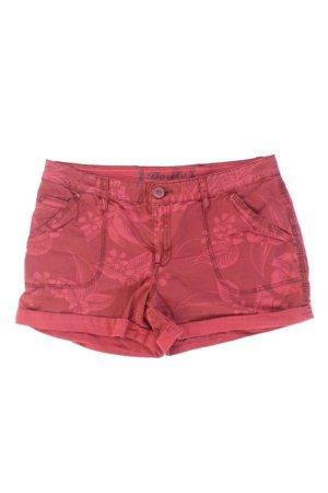 Shorts Größe 38 rot aus Baumwolle