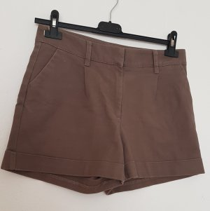 H&M Short taille haute marron clair
