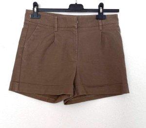 H&M Short gris brun-marron clair