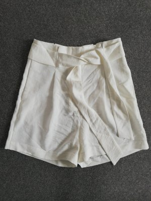 Camaieu High-Waist-Shorts white