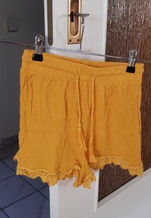 Shorts Hose senfgelb Gr.S von Terranova