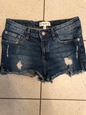 Mango Shorts dark blue