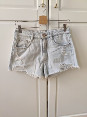 Shorts Hot Pants von Zara im Distressed Look