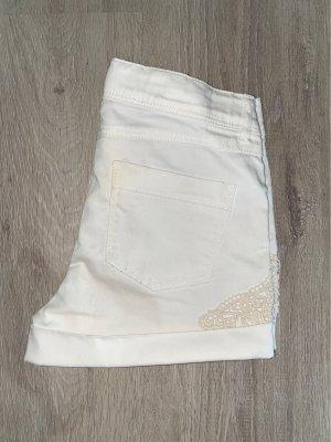 Shorts/Hot Pants White