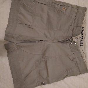 Northland Pantalón corto de tela vaquera crema-beige claro