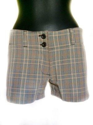 Shorts im Karo-Look Low Waist