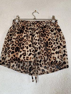 Shorts im Leoparden Muster / Animal Print