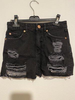 Shorts im UsedLook ungetragen