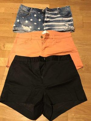 Shorts in verschiedenen Farben von H&M und LTB