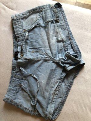 Clockhouse Denim Shorts azure-light blue