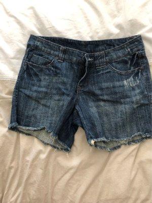 Shorts blu scuro-blu fiordaliso