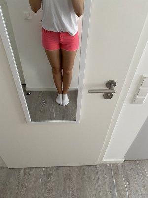 Crazy World Denim Shorts multicolored