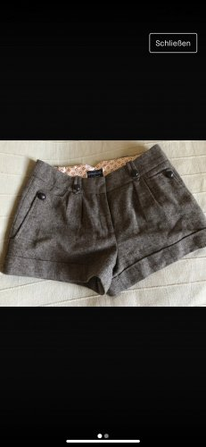 Shorts / kurze Hose aus Wolle