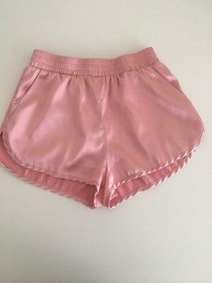 Shorts/ kurze Hose/ Stoff Hose Satin
